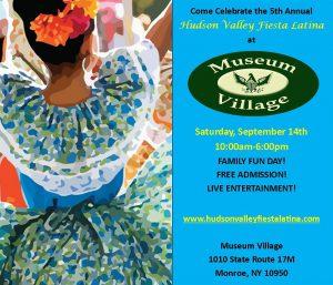 5th Annual Hudson Valley Fiesta Latina @ Museum Village