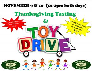Thanksgiving Tasting & Toy Drive