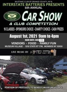 Mustang Club of Orange County Car Show